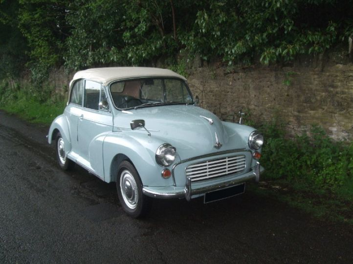 Genuine 1960 Smoke Grey Convertible with Original Blue Leather Trim and 948 Engine Gearbox
