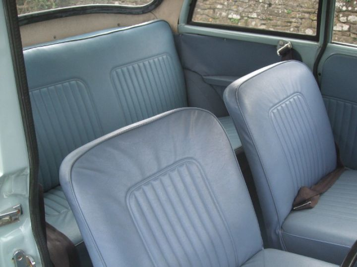 1969 Smoke Grey Replica Convertible with Light Blue Vinyl Interior Trim