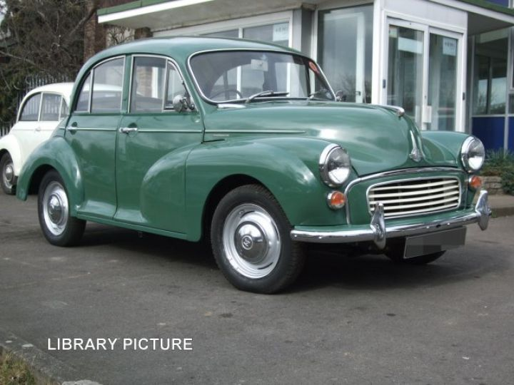 1962 Almond Green 4door saloon