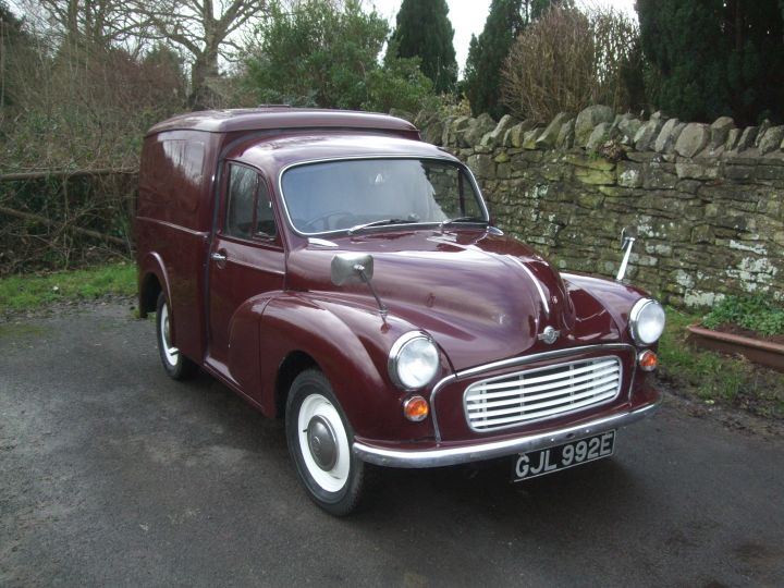 1967 MAROON VAN,  *REFRIGERATION UNIT FITTED*