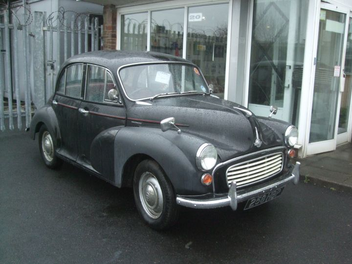 1962 BLACK 4 DOOR SALOON, 1098 ENGINE