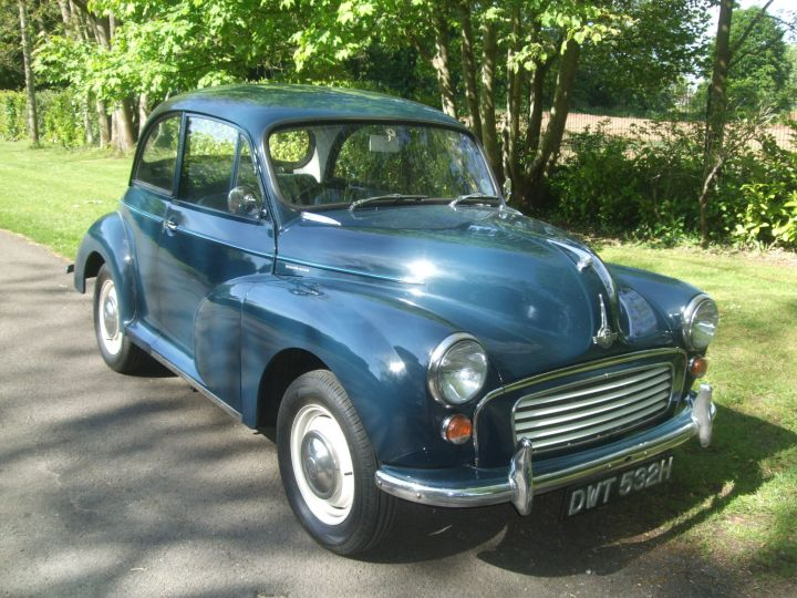 1970 TRAFALGAR BLUE 2 DOOR SALOON