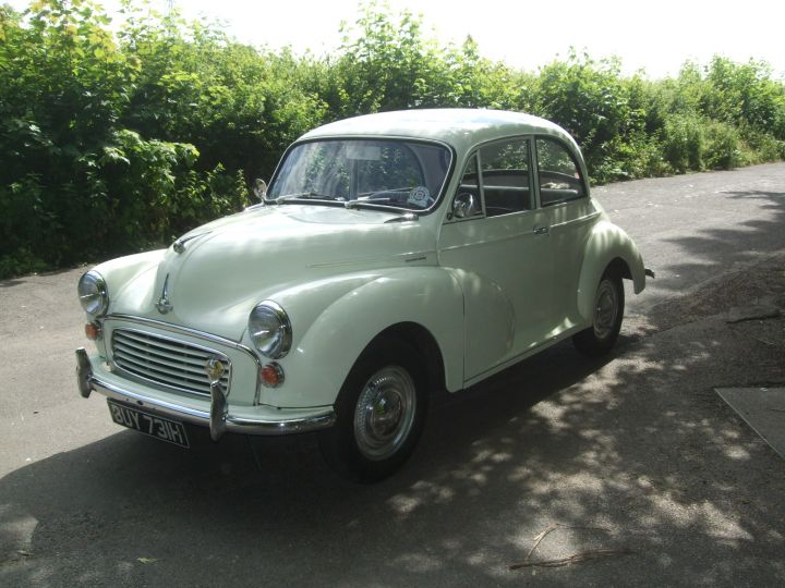 1970 Snowberry White 2 Door Saloon, Low Mileage