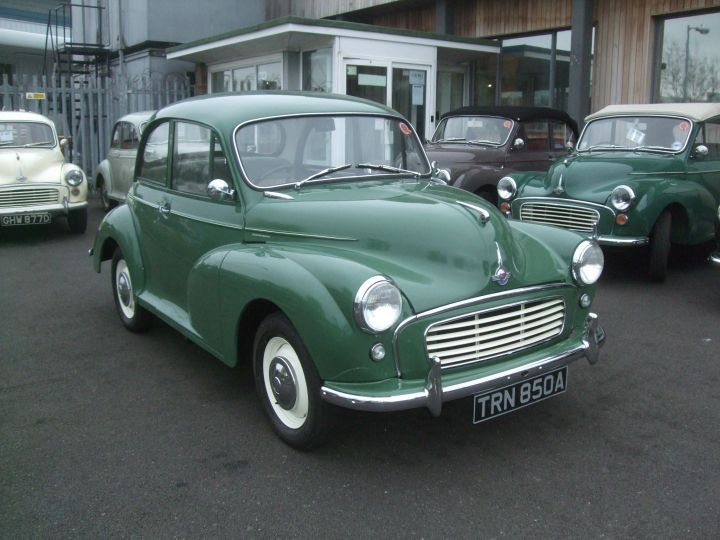 1962 ALMOND GREEN 2DR SALOON