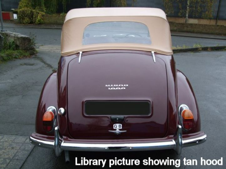 1960 Maroon Genuine Convertible Shell