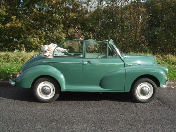 Almond Green Replica Convertible with Duo-Tone Interior Trim