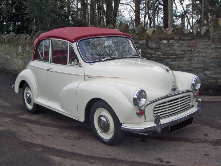 1966 OLD ENGLISH WHITE REPLICA CONVERTIBLE, 1275 ENGINE, 5 SPEED GEARBOX
