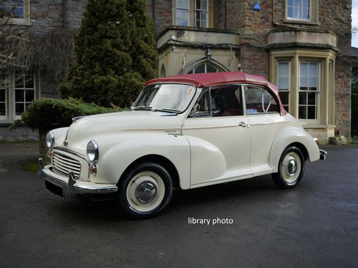 * AVAILABLE SOON* 1966 OLD ENGLISH WHITE REPLICA CONVERTIBLE