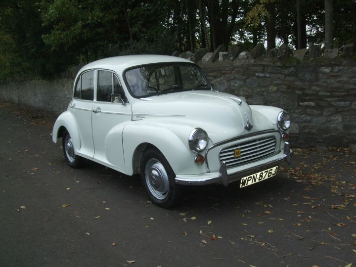 1970 SNOWBERRY WHITE 4 DOOR SALOON
