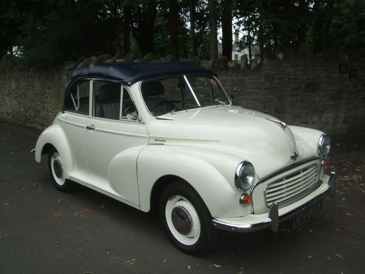 1955 MORRIS MINOR CONVERTIBLE CONVERSION
