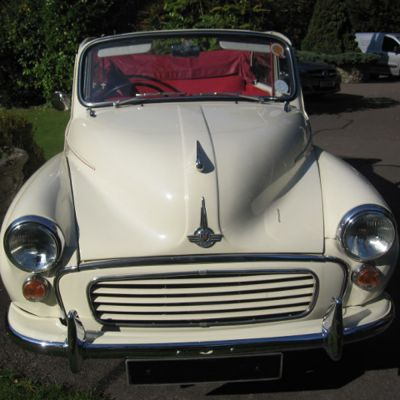 Old English White Genuine Convertible