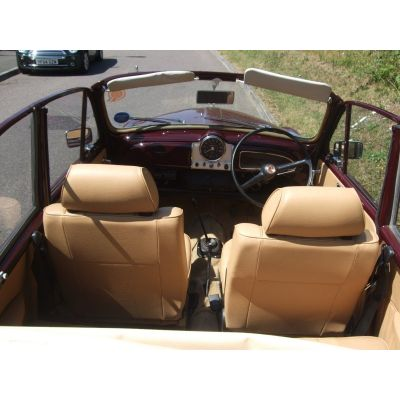 Maroon Replica Biscuit Interior 9