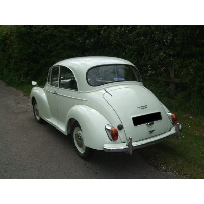 Snowberry White 2-door Saloon 4