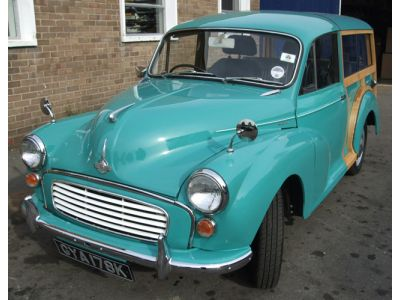 Morris Minor Traveller Rebuild