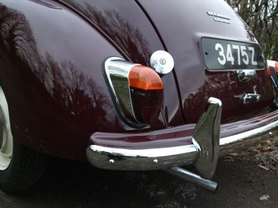 Morris Minor Saloon 2 Door Rebuild