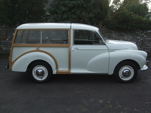 1969 Snowberry White Traveller With Black Trim Charles