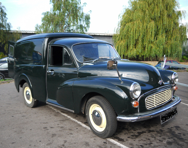 1971 Connaught Green Pick Up Charles Ware S Morris Minor