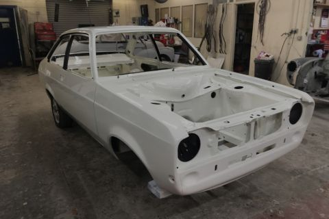 Strip down and repaint of a Ford Mexico Mark II