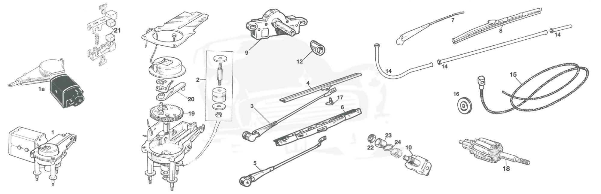 WINDSCREEN WIPER ASSEMBLY