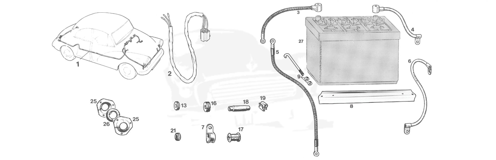 Wiring Harness  U0026 Battery