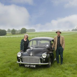 You can afford to do things by half with a Charles Ware Morris Minor