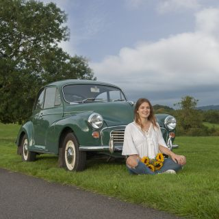O Lord, won't you buy me a Charles Ware Morris Minor...