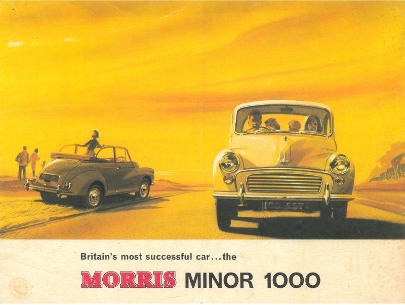 yellow-morris-minor-ad