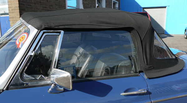 Crown Sunroof and Trim