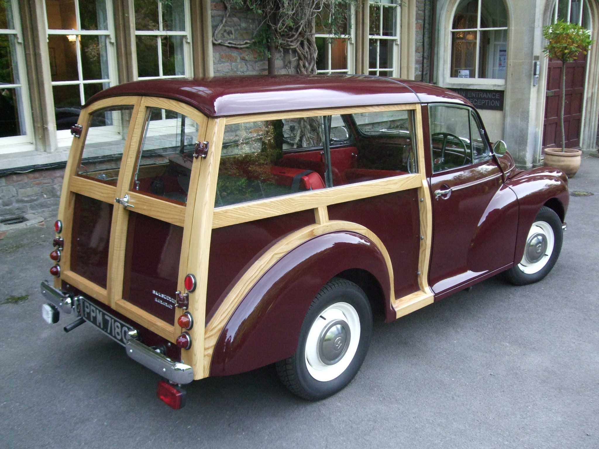 morris minor restoration timber