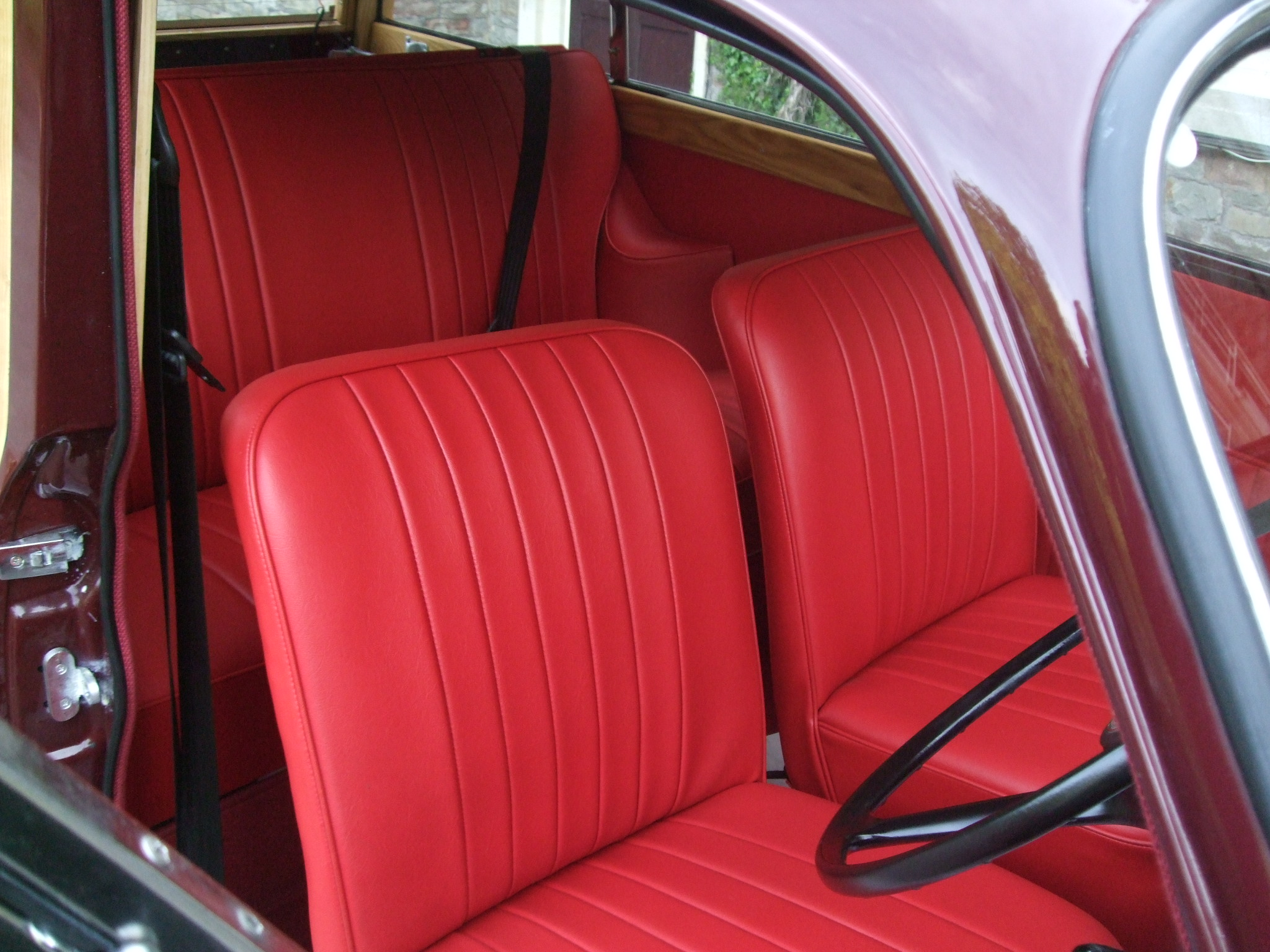 morris minor restoration seats