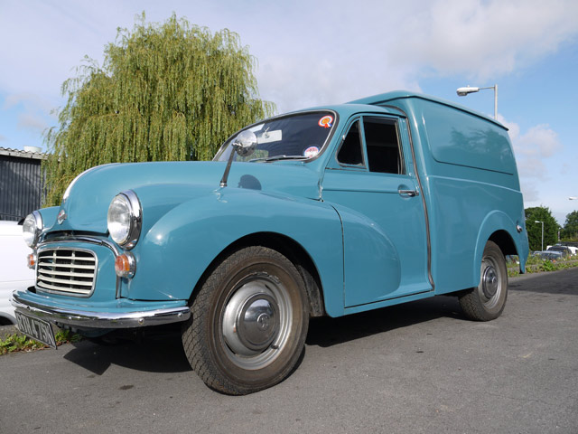 morris minor van restoration