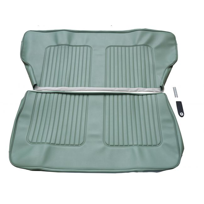 rear seat covers green