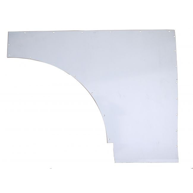 Traveller Body Side Panel Aluminium Right Hand Front