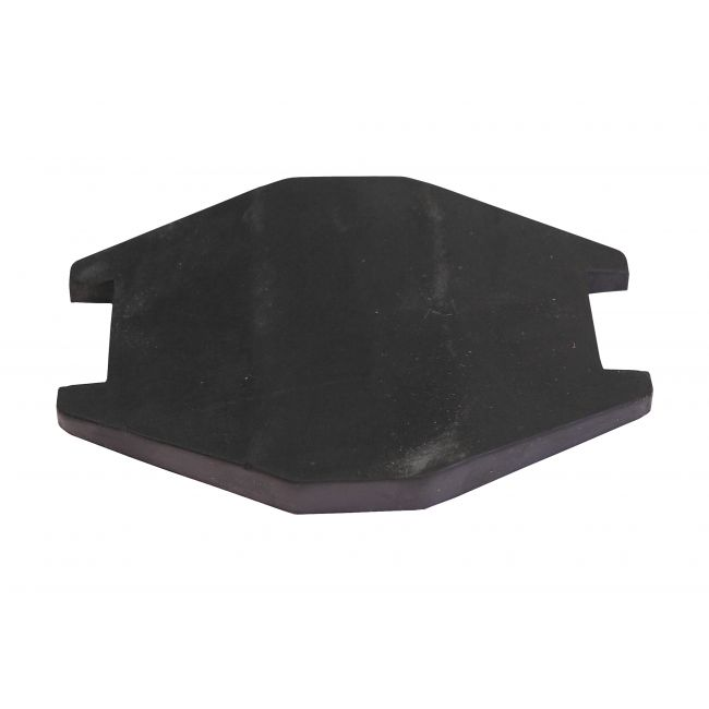 2 Speed Wiper Mounting Pad - Rubber