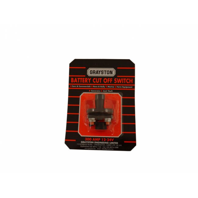 Cut Off Switch - Battery - For Immobilization