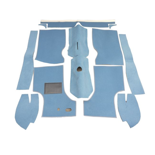 Carpet Set - Late Type - Light Blue 3
