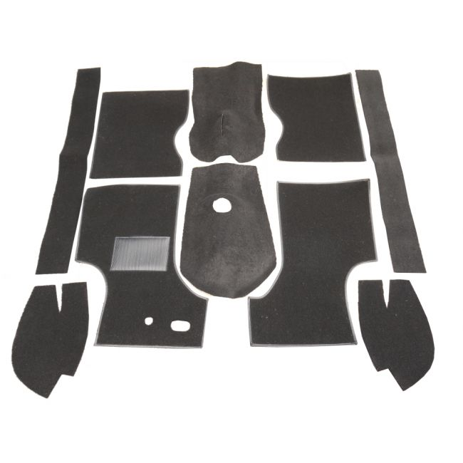 Carpet Set - Black 3