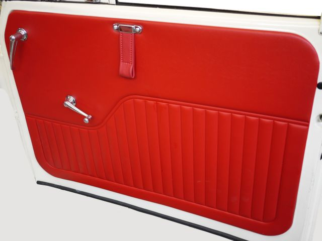 Door Card and Door Pull - Red