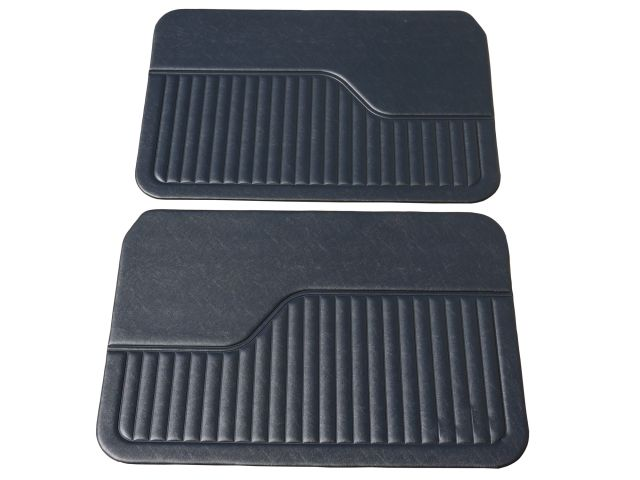 Door Liners - 2 Door - Black - Pair