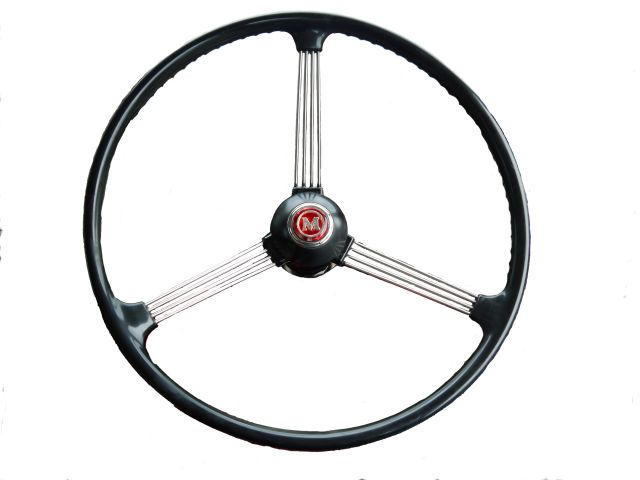 948 Steering Wheel - 3 Spoke Dished - Reconditioned