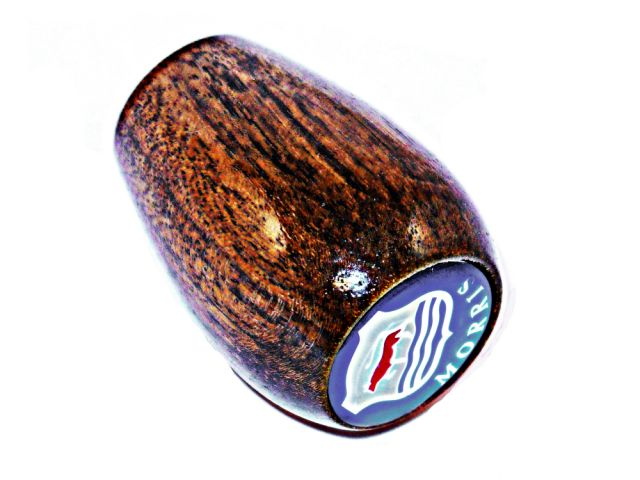 Wooden Gear Knob With Badge