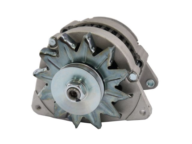 Alternator, Pulley & Fan - High Output