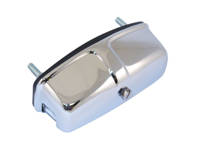 Number Plate Lamp Assembly - Chrome