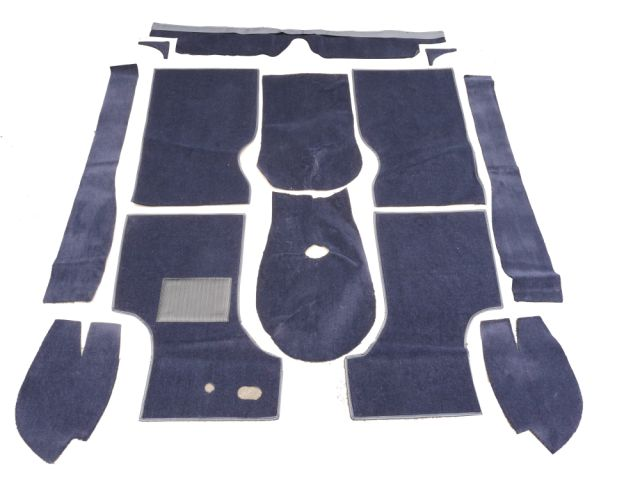 Carpet Set - Late Type - Navy