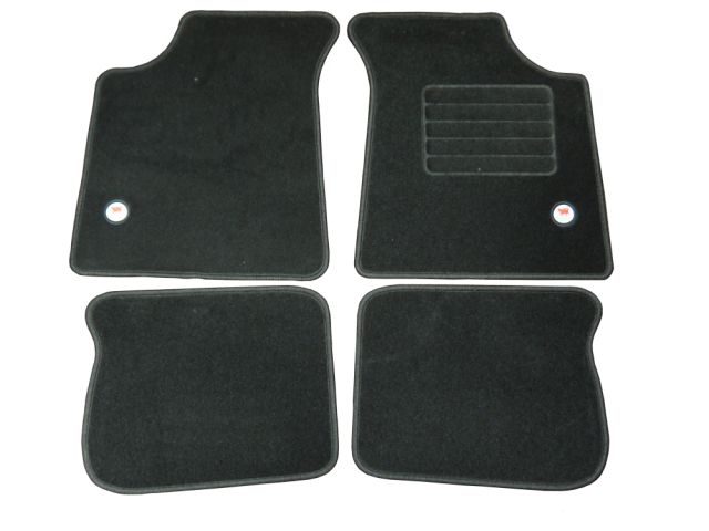 Mat Set - Black Carpet