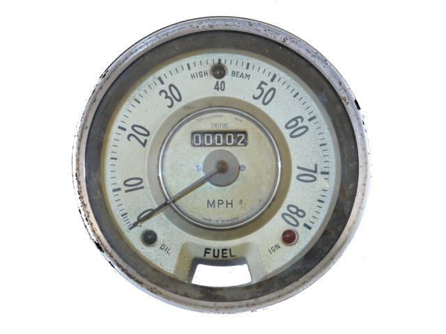 Speedometer - Bronze - SN4407/00 1504 - Use SPD106