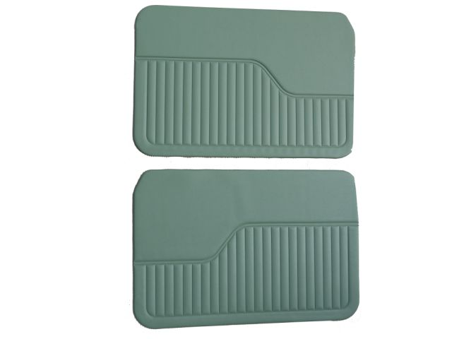 Door Liners - 2 Door - Green - Pair