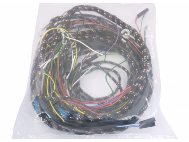 Wiring Harness Amp Battery Charles Ware S Morris Minor Centre